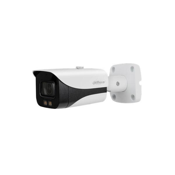 """Le fotocamere Starlight a colori sono l'ultimo tipo di fotocamere Starlight di Dahua. Queste fotocamere sono dotate di un CMOS Sony Starvis da 1 / 2.8 """"e di un'apertura extra large fino a un massimo di F1.0. Questa combinazione produce già un'immagine a c"""