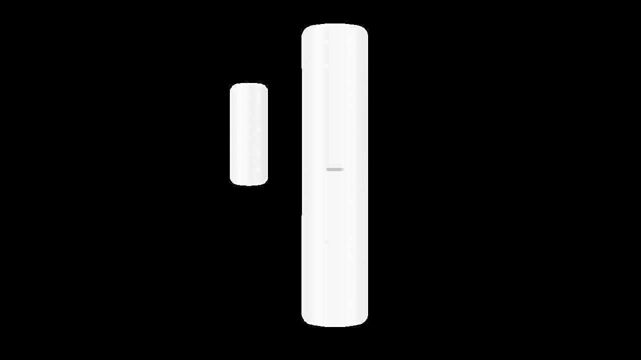 Contato magnético combinado com detecção de choque e inclinação Extensão de 2 entradas com fio Totalmente configurável remotamente via aplicativo Vários métodos de login e design de instalação fácil Salto de frequência contra bloqueio para transmissão con