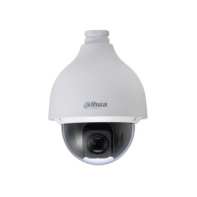 Equipped with powerful optical zoom and accurate pan / tilt / zoom performance, the SD50 series PTZ camera can provide wide surveillance range and detail. The camera delivers 1080P resolution at 25/30 fps, with 32x optical zoom, and has excellent low-ligh