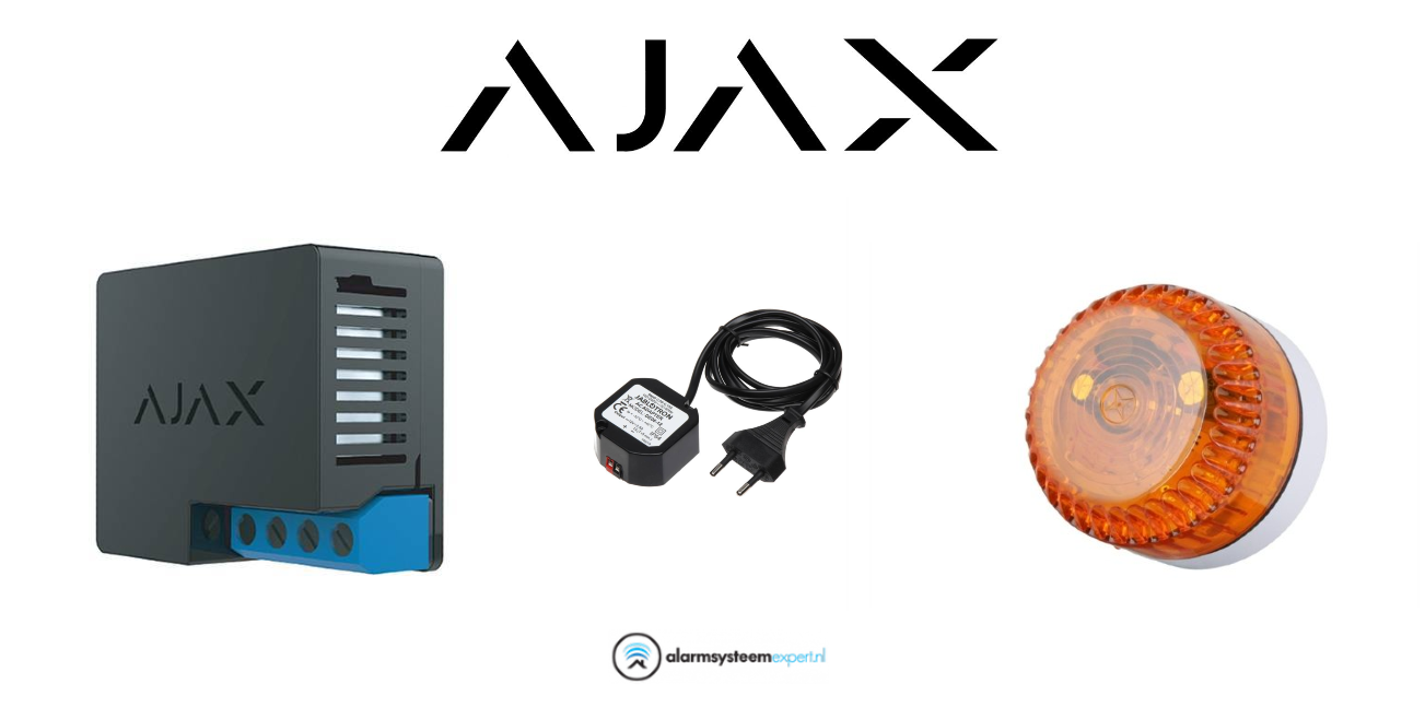 Com este produto, você pode conectar e adicionar facilmente um Flash ao sistema Ajax. Em anexo está uma imagem com instruções de instalação simples.