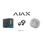 Ajax Systems Conjunto Ajax Flash Branco