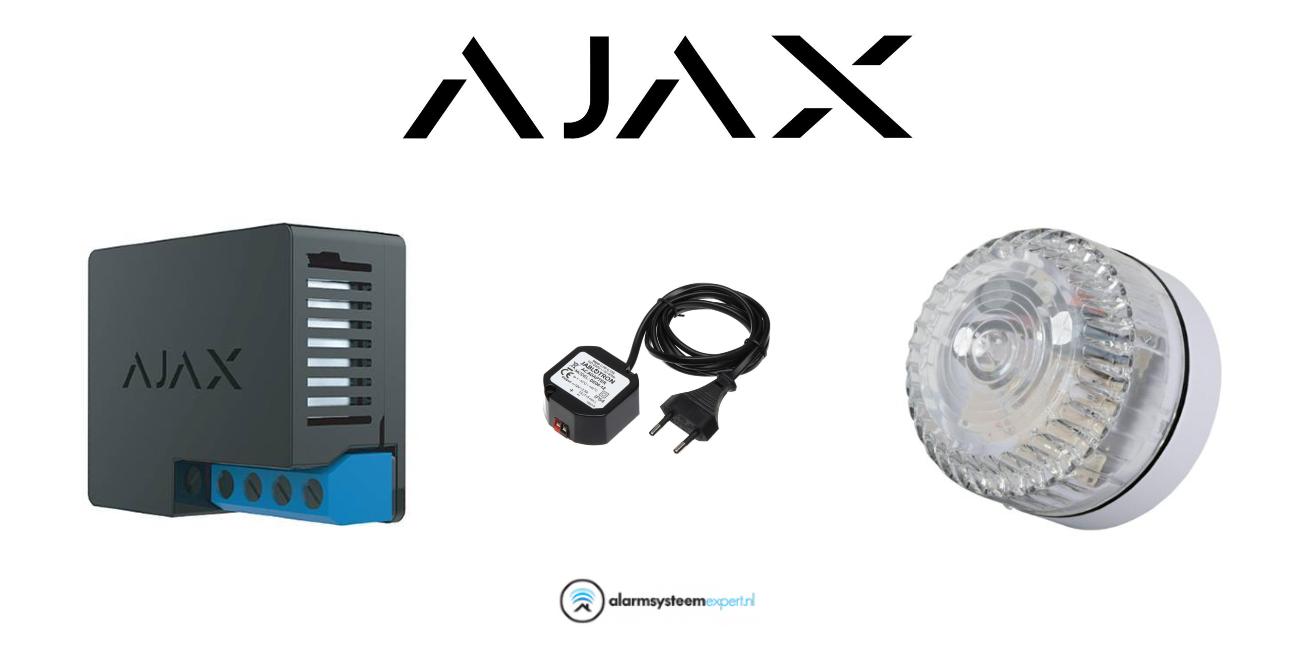 Con este producto, puede conectarse fácilmente y agregar un Flash al sistema Ajax. Se adjunta una imagen con sencillas instrucciones de instalación.