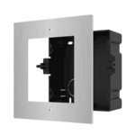 Hikvision DS-KD-ACF1/S Inbouwframe, 1 module RVS