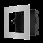 Hikvision DS-KD-ACF1 / S Marco de instalación, 1 módulo de acero inoxidable