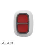 Ajax Systems Botón de pánico doble (blanco)