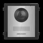 Hikvision DS-KD8003-IME2 / NS, intercomunicador modular de 2 fios, módulo da câmera em aço inoxidável sem botão de campainha