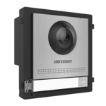 Hikvision DS-KD8003-IME2 / S, 2-Wire Modular intercom, camera module stainless steel with bell button