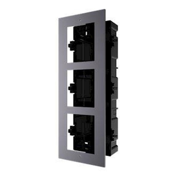DS-KD-ACF3, modulaire intercom, inbouwframe 3 modules