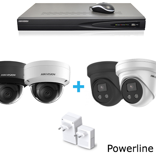 Kit di sorveglianza telecamera IP HD (Wireless)