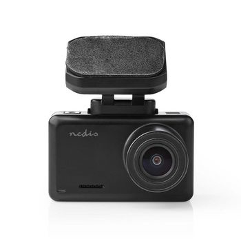 This Nedis® dashcam records images in true 4K in combination with the 140 ° ultra-wide angle lens, so that everything that happens around you - even next to you - is captured. The dashcam has a 2.4 inch HD LCD screen.
