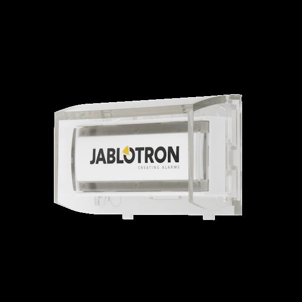 Het product is een draadloos systeemapparaat voor de Jablotron Midway Pro en Essex Pro<br /> Met knopactivering kunt u de draadloze belfunctie gebruiken, een noodalarm activeren of apparaten besturen<br /> Het product bezet één positie in het systeem