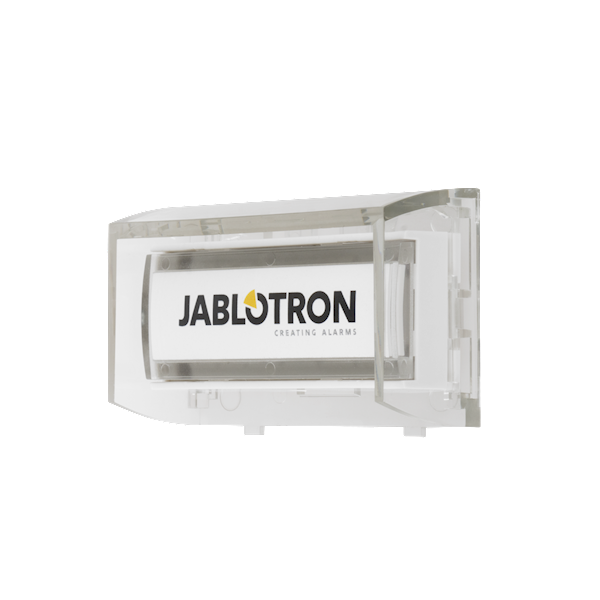 The product is a wireless system device for the Jablotron Midway Pro and Essex Pro Button activation allows you to use the wireless calling function, activate an emergency alarm or control devices The product occupies one position in the system