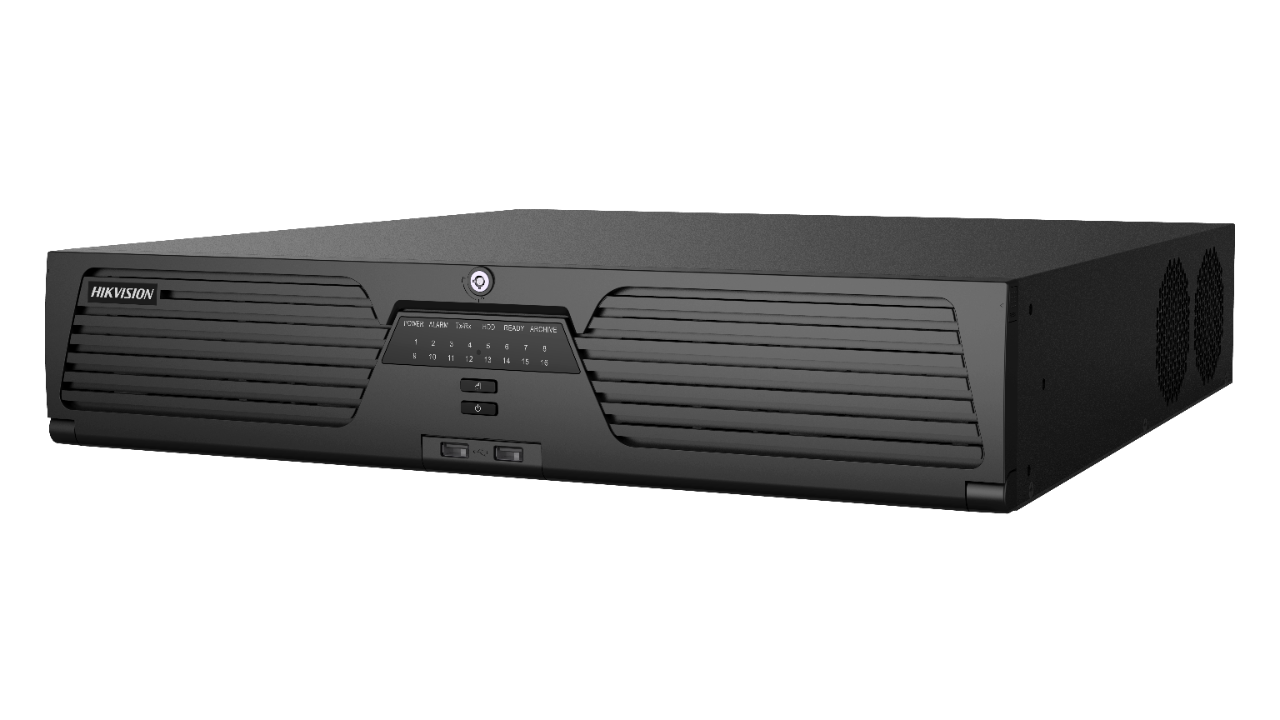 iDS-9664NXI-I8 / X (B), DeepinMind-Netzwerkvideorecorder, 64 Kanäle, 8x Sata