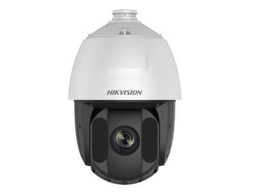 DS-2DE5225IW-AE / S5 Caméra PTZ Ultra Low Light, IP avec une résolution de 2 Mégapixels, un zoom optique 25x, équipée de WDR pour des conditions d'éclairage difficiles et IR Powerled jusqu'à 150m de distance. Les caméras IP Hikvision de la série Acusense