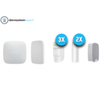 Ajax Systems Alarmsysteem Kit 4 Draadloos (Wit)