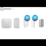 Ajax Systems Kit de sistema de alarma 4 inalámbrico (blanco)