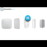 Ajax Systems Kit de sistema de alarma 3 inalámbrico (blanco)