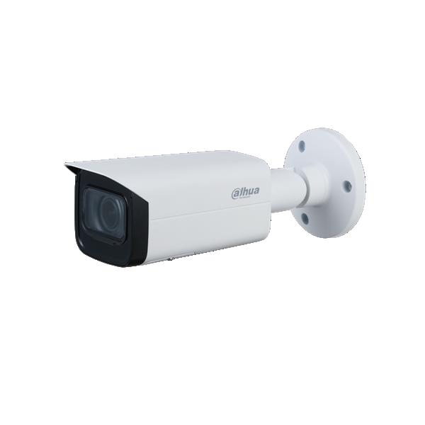 Esta câmera HD-CVI colorida possui retroiluminação LED branca. Este LED acende assim que a quantidade de luz na câmera cai abaixo de 3 lux. Através do menu OSD da câmera, esta iluminação LED pode ser desligada ou a sensibilidade do sensor de luz pode ser