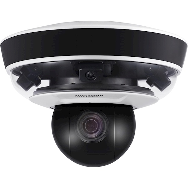 """Panoramic camera Three 1 / 2.8 """"CMOS with progressive scan UP TO 3 channels 1920 × 1080 @ 30fps resolution Color: 0.005 Lux @ (F1.6, AGC ON) B / W: 0.001 Lux @ (F1.6, AGC ON) 0 Lux with IR Horizontal viewing angle: 80.7 ° × 3 Vertical viewing angle: 43.5"""