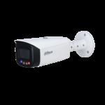 Dahua IPC-HFW3449T1P-AS-PV, 4MP, a todo color, disuasión activa, bala de focal fija