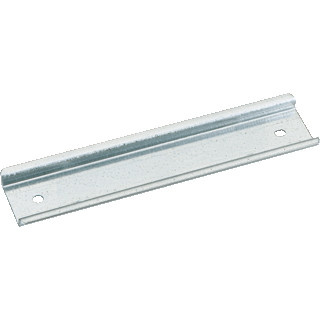 Petit morceau de rail DIN, 14,4 cm x 3,5 cm pour transformateur de cloche