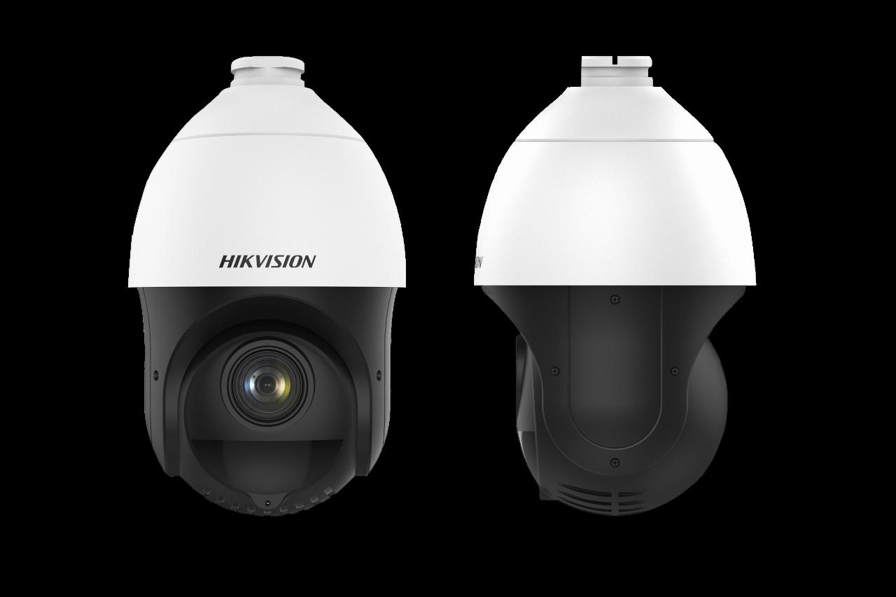 Le DS-2DE4425IW-DE (S5) PTZ est un PTZ très compact avec pas moins de 100 m IR et un zoom 25x. En raison de sa conception compacte, ce PTZ peut être utilisé dans les zones où un PTZ traditionnel est trop grand. Les caméras IP Hikvision de la série Acusens