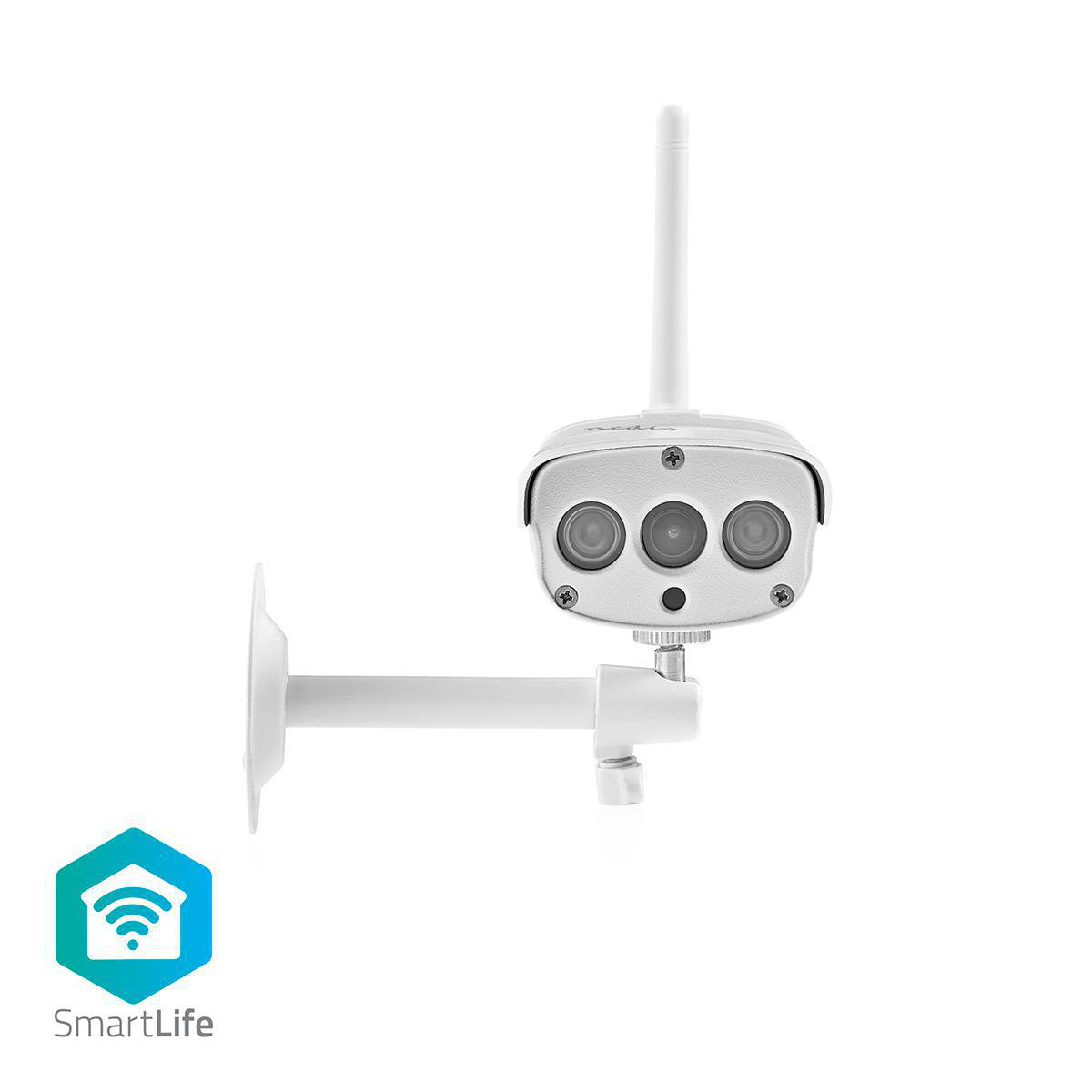 Home automation just got a lot easier. This easy-to-use Smart Outdoor IP camera can be easily connected to your existing Wi-Fi network to monitor the outdoor areas of your home and record any movement.