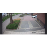 Hikvision Full HD 4 Megapixel IP Colorvu camera surveillance set 4x Dome White