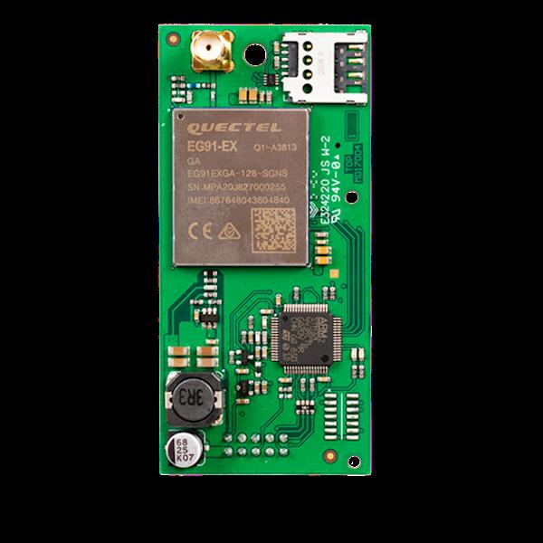 De LTE- 4G GSM rmodule is bedoeld voor gebruik met de JA-100K, JA-101K en JA-106K alarmcentrales van de JABLOTRON 100+ serie.