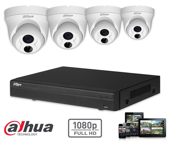 HD IP camera surveillance kit