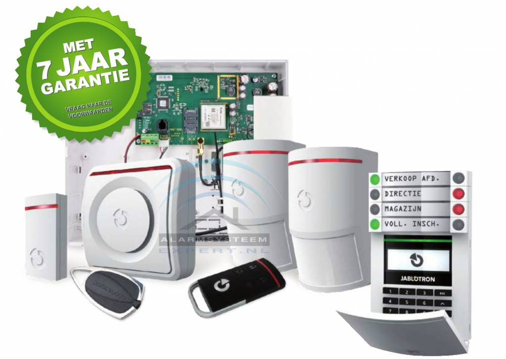 Jablotron 100 alarmsysteem Kits