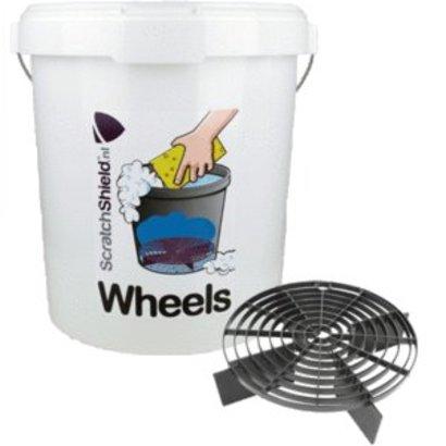 """ScratchShield  ScratchShield - Bucket 20,5L + ScratchShield Grit """"Wheels"""""""