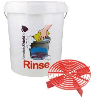 "ScratchShield  ScratchShield - Bucket 20,5L + ScratchShield Grit ""Rinse"""