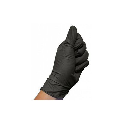 Colad  Colad - Nitril Handschoenen Zwart Per 60 Stuks