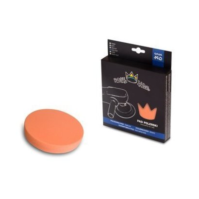 Royal Pads Royal Pads - Hard + (One-Step) Pad Orange 135mm