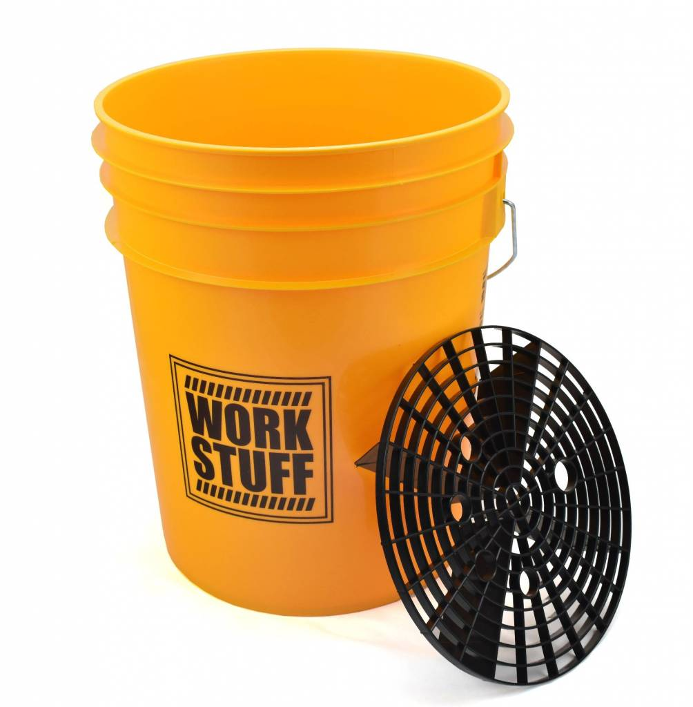 Work Stuff - Yellow Wash Bucket