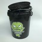 VooDoo Ride Black Bucket 15L + Grit + Deksel