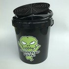 VooDoo Ride Black Bucket 15L + Grit + Lid