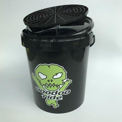 VooDoo Ride Voodoo Ride - Black Bucket + Grit + Lid