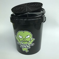 VooDoo Ride Black Bucket 15L + Lid