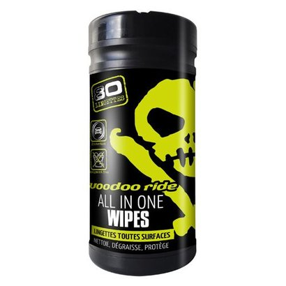 VooDoo Ride VooDoo Ride - Lingettes Toutes Surfaces - All In One Wipes