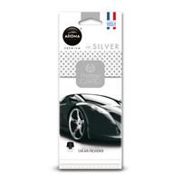 Aroma Geurhangers Prestige Card Silver