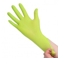 Carchemicals Nitril Gloves Green