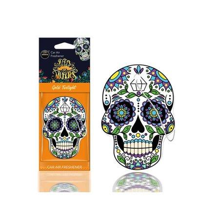 Aroma Geurhangers Aroma - Dia De Los Muertos Gold Tattoo
