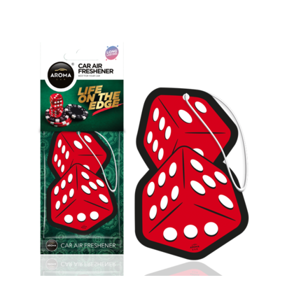 Aroma Geurhangers Aroma - Life On The Edge Dice