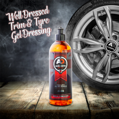 AutoBrite Direct Autobrite - Well Dressed Trim & Tyre Gel Dressing 500ml