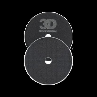 "3D Car Care 3D Car Care - Spider-Cut Black Foam Polishing/Finishing Pad 3,5"""