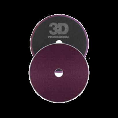 """3D Car Care 3D Car Care - Spider-Cut Dark Purple Foam Cutting Pad 3,5"""""""
