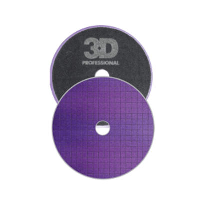 "3D Car Care 3D Car Care - Spider-Cut Light Purple Polishing Pad 3,5"""