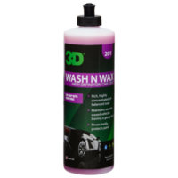 3D Car Care 3D Wash N Wax 16 oz.